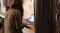 Tyrimas: nuotolinis darbas namuose mažina produktyvumą (nuotr. stop kadras)