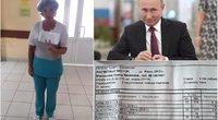 Rusijoje seselė paviešino savo atlyginimą: nebežino kaip gyventi, kreipėsi į V. Putiną (nuotr. VK.com)