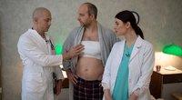 Donatas Šimukauskas vaidino vyrą su moteriška krūtine (nuotr. Organizatorių)