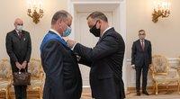 Saulius Skvernelis susitiko su Lenkijos prezidentu Andrzejumi Duda (nuotr. LRVK | Darius Janutis)