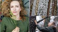Miško maudynių gidė atskleidė, kaip reikia vaikščioti miške  (tv3.lt fotomontažas)