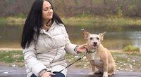 Šuo iš prieglaudos pakeitė vilnietės gyvenimą: niekada negalvojau, kad galima taip mylėti