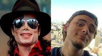 Michaelis Jacksonas ir Prince Jacksonas (nuotr. SCANPIX) tv3.lt fotomontažas
