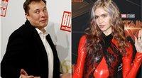 Elon Musk ir Grimes (nuotr. SCANPIX) tv3.lt fotomontažas