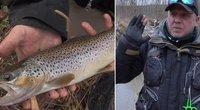 Upėtakių žvejyba žiemą: pasakė, kokios esminės žvejų klaidos