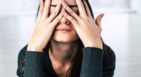 Stresą patirianti moteris (nuotr. Shutterstock.com)