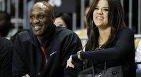 Khloe Kardashian ir Lamar Odom (nuotr. SCANPIX)