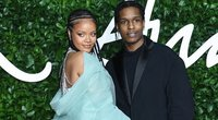 Rihanna ir A$AP Rocky (nuotr. SCANPIX)