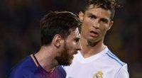 L. Messi ir C. Ronaldo (nuotr. SCANPIX)
