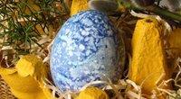 Natūraliai dažyti kiaušiniai (Nuotr. Ritos receptai)