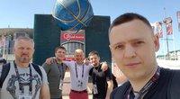 Eurolygos transliuotojų komanda iš Lietuvos (nuotr. asm. archyvo)