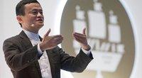 Jackas Ma, Alibaba grupės direktorių tarybos direktorius, pristato naują projektą (nuotr. SCANPIX)
