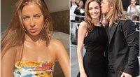 Nicole Poturalski, Angelina Jolie ir Brad Pitt (tv3.lt fotomontažas)
