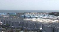 Japonija į vandenyną išleis daugiau nei 1 mln. tonų po Fukušimos katastrofos užteršto vandens (nuotr. stop kadras)