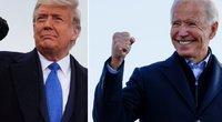 Joe Bidenas ir Donaldas Trumpas (nuotr. SCANPIX)