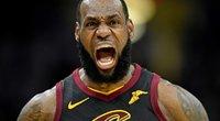 """Klivlando """"Cavaliers"""" – Bostono """"Celtics"""" 109:99 (nuotr. SCANPIX)"""