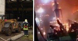 Išskirtiniai vaizdai iš Alytaus: TV3 žinios gavo įrašą, kad gaisras kilo ne pirmą kartą