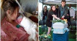 """Jauna motina paviešino savo mirusį kūdikį: """"Meldžiau Dievo, kad vietoje jo pasiimtų mane"""""""