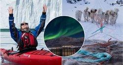 Lietuvės gyvenimas primena filmo scenarijų: gyvena tarp ledynų, maistą pagauna pati