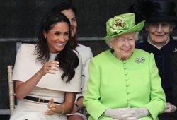 Netikėtas Markle žingsnis: tai karalienei Elžbietai II labai patiktų