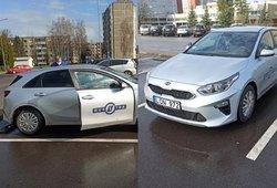 """Džiaugėsi puikiai priparkavęs automobilį, tačiau egzamino neišlaikė: """"Regitra"""" atvejį tiria"""