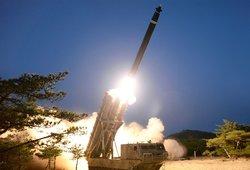 """""""Hamas"""" surengė raketų ataką prieš Jeruzalę"""