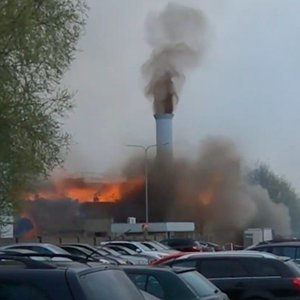 Šiurpi nelaimė Klaipėdoje: nufilmuotas bendrovėje įvykusio sprogimo momentas