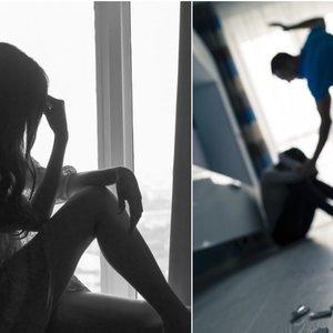 Dviejų moterų kančios: kad apsigintų nuo smurtautojo ryžosi netikėtam žingsniui