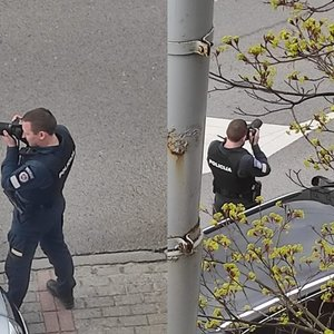 Vilniuje – pareigūnas su fotoaparatu: paaiškėjo, kokie pažeidėjai gaudomi tokiu būdu