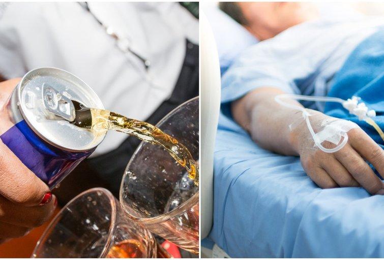 Energetiniai gėrimai gali pridaryti rimtos žalos (nuotr. Shutterstock.com)
