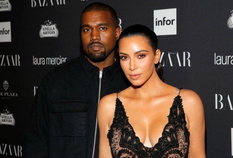 Kim Kardashian ir Kanye Westas (nuotr. SCANPIX)