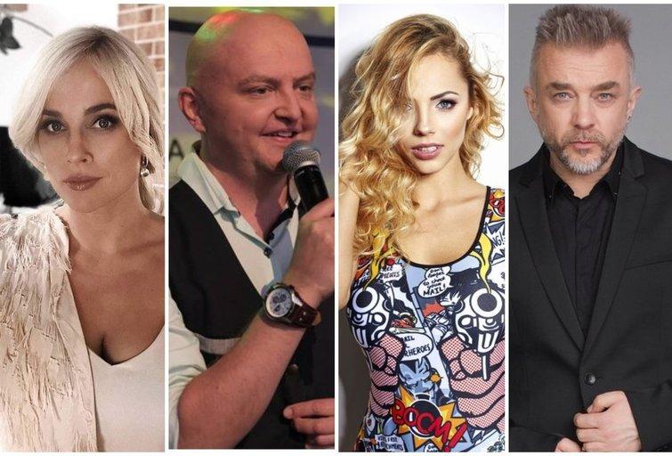 I. Jankauskaitė, S. Stavickis-Stano, G. Alijeva, A. Mamontovas (tv3.lt fotomontažas)