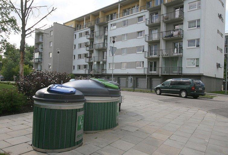 VSA Vilnius rūšiavimo konteineriai