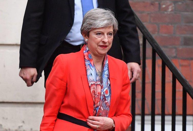 """Britanijos premjerės May partijai gresia netekti daugumos parlamente, artėjant """"Brexit"""" deryboms  (nuotr. SCANPIX)"""