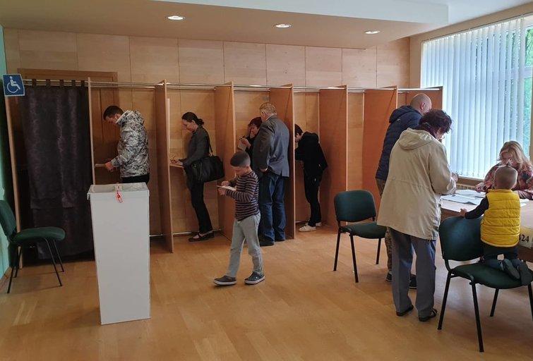 Rinkimai (nuotr. Raimundo Maslausko)