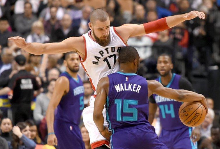 "Toronto ""Raptors"" – Šarlotės ""Hornets"" (nuotr. SCANPIX)"