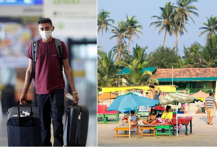Indijoje įstrigę lietuvaičiai nežino, kaip grįžti namo (tv3.lt fotomontažas)