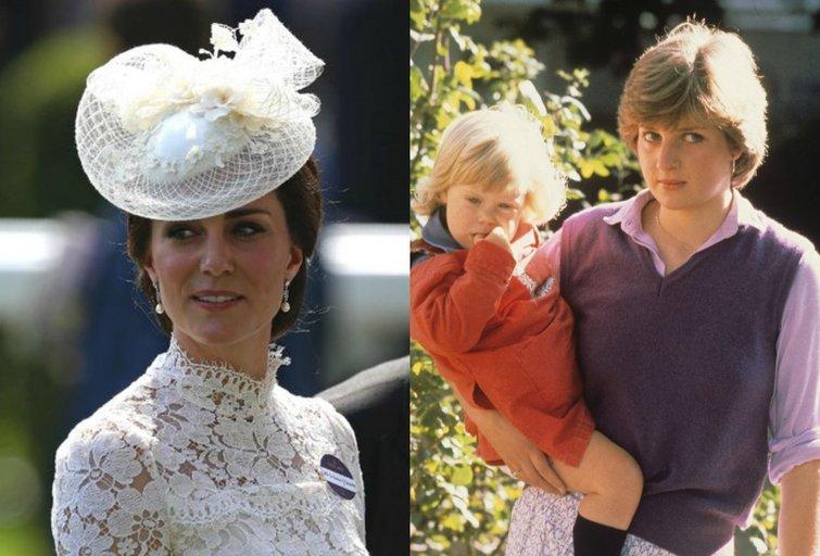 Perregima K. Middleton suknelė priminė ikonišką Princesės Dianos apdarą (nuotr. Vida Press)
