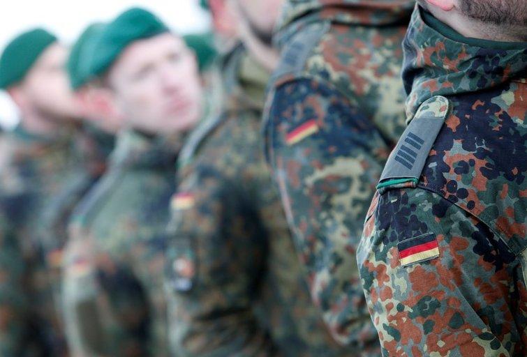 Vokiečių kariai (nuotr. SCANPIX)