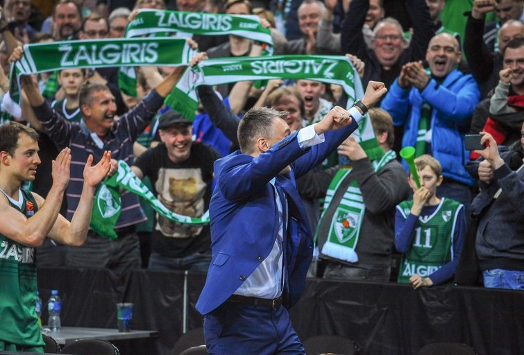 Šarūnas Jasikevičius (nuotr. Fotodiena.lt/Josvydo Elinsko)