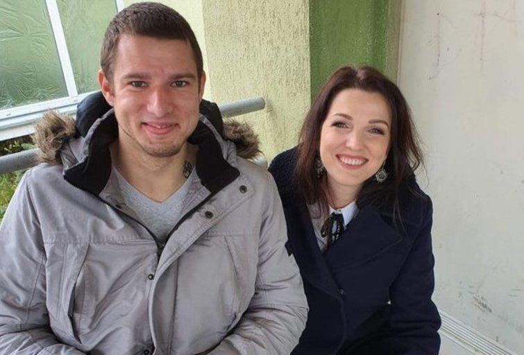 Viktoras Topol ir Kristina Rimienė (nuotr. Organizatorių)
