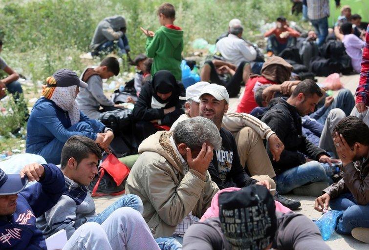 Į Europą plūsta rekordinis skaičius pabėgėlių (nuotr. SCANPIX)