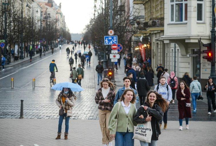 Pavasaris sostinėje (nuotr. K. Polubinska/ fotodiena.lt)