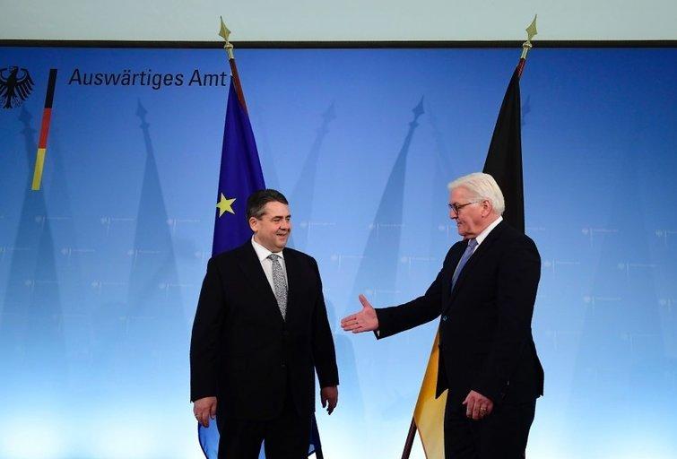 Vokietija turi naują užsienio politikos vadovą (nuotr. SCANPIX)
