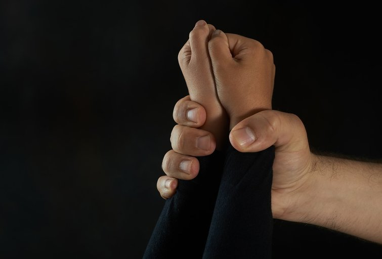 Smurtas prieš vaiką (nuotr. Fotolia.com)