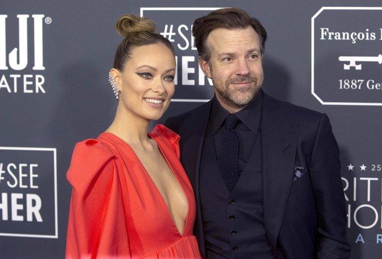Jason Sudeikis ir Olivia Wilde (nuotr. SCANPIX)