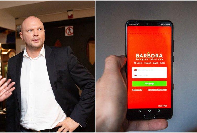 """Kristupas Krivickas ir """"Barbora"""" (tv3.lt fotomontažas)"""