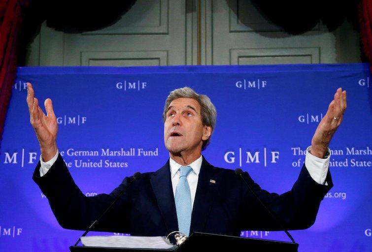 Johnas Kerry užtikrino: jeigu Baltijos šalys būtų puolamos, JAV nepažeis savo įsipareigojimų (nuotr. SCANPIX)