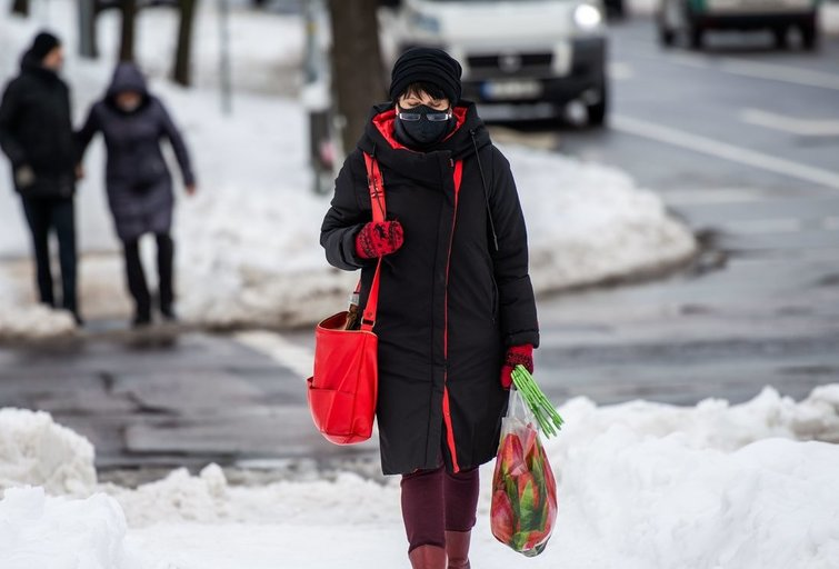 Žiema sostinėje (Nuotr. fotodiena.lt)