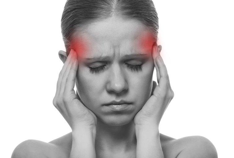 Galvos skausmas (nuotr. 123rf.com)